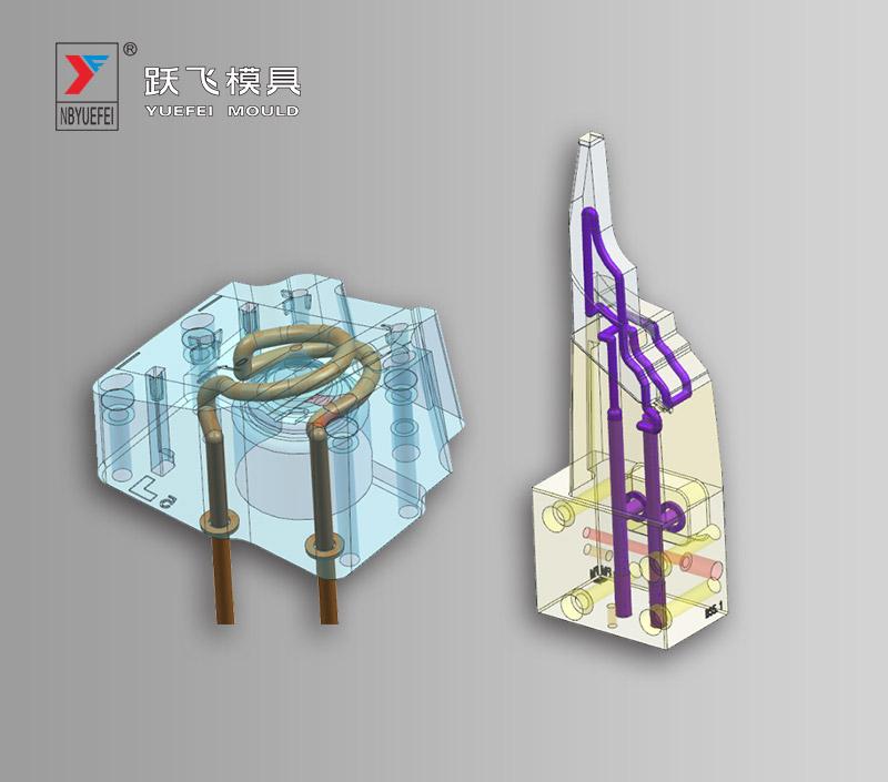 3D printed conformal cooling insert