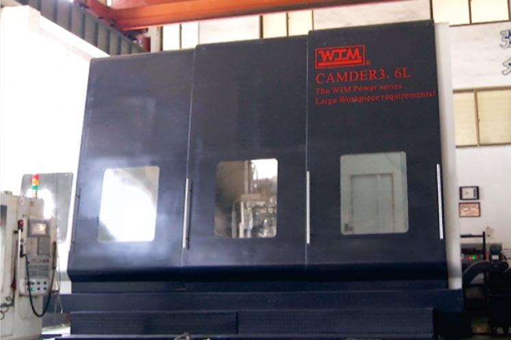 WIM 5 axis gun-drilling CNC